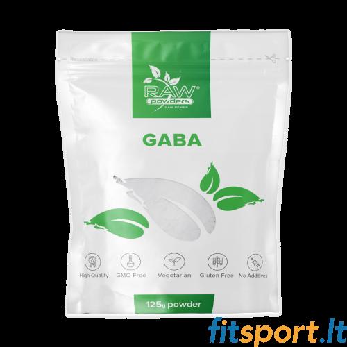 Raw Powders Gaba 125 g - 125 porcijos