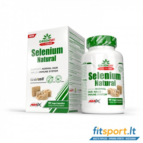 Amix Nutrition GreenDay® Selenium Natural 90 kaps.