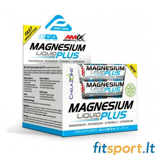 Amix Performance Magnesium Liquid+ 20x25 ml