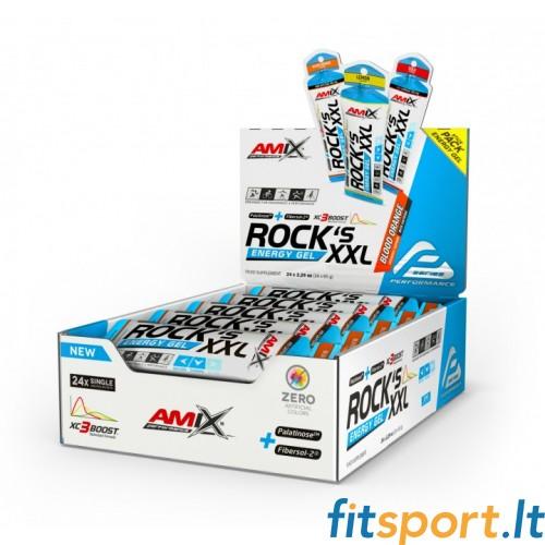Amix Performance Rock's Energy Gel XXL 65g. x 24 (su kofeinu)