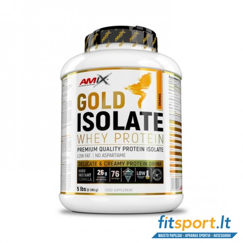 Amix™ Gold Whey Protein Isolate 2280 g