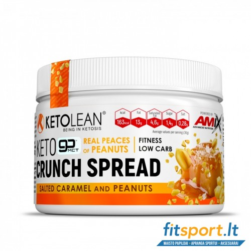 Amix Nutrition KetoLean® Keto Crunch Spread 250g