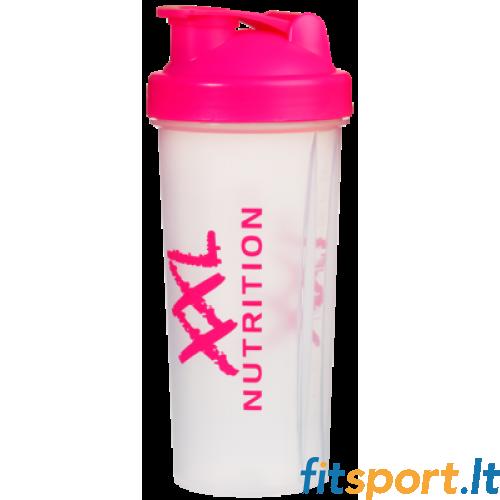 XXL Nutrition rožinė plaktuvė 800 ml