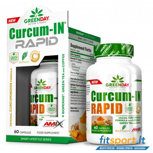 Amix GreenDay® Curcum-IN® Rapid 60 kaps.