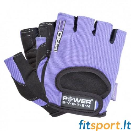 Power System Pro Grip unisex pirštinės (violetinės)