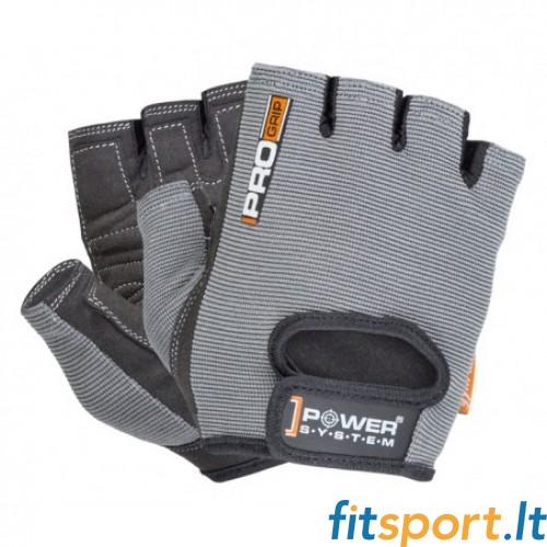 Power System Pro Grip unisex pirštinės (pilkos)