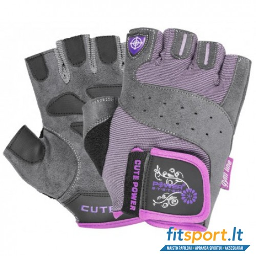 Power System Gym gloves Woman's Power (rožinės)
