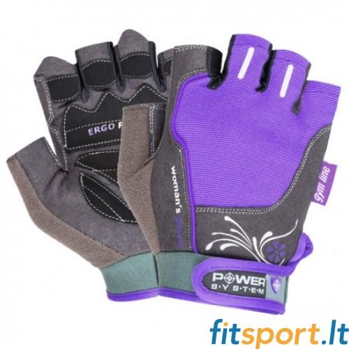 Power System Gym gloves Woman's Power (violetinės)