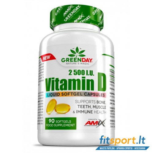 Amix GreenDay® Vitamin D3 90kaps.