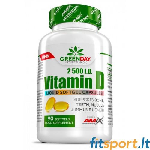 Amix GreenDay® Vitamin D3 90kaps.