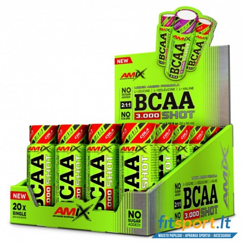 Amix ™ BCAA SHOT 3000 mg 20x60 ml