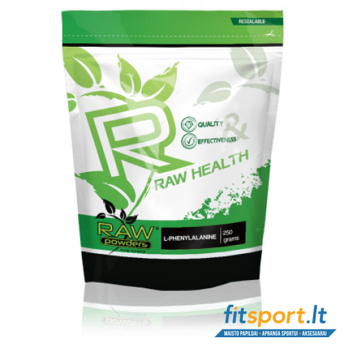 Raw Powders L-Phenylalanine 250 g.
