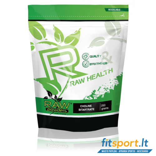 Raw Powders Choline Bitartrate 250 g.