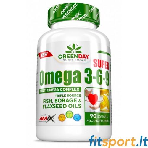 Amix GreenDay® Super Omega 3-6-9 90kaps.