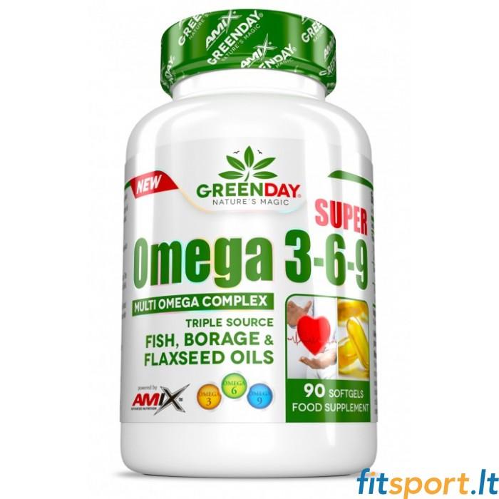 3 6 9 sveikatos širdies omega
