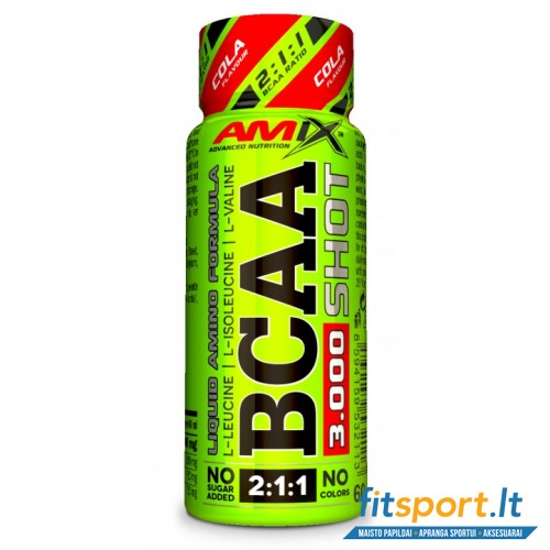 Amix ™ BCAA SHOT 3000 mg