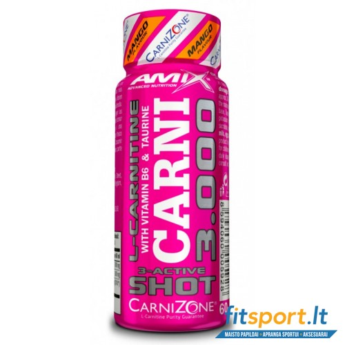 Amix™ CarniShot 3000mg 60 ml.