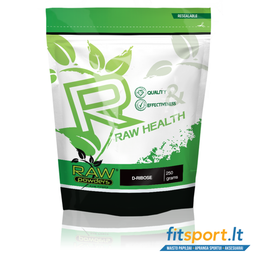 Raw Powders D-Ribose 250 g