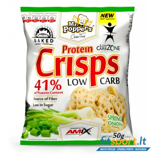 Amix Mr. Popper's® Low Carb Protein Crisp 50g