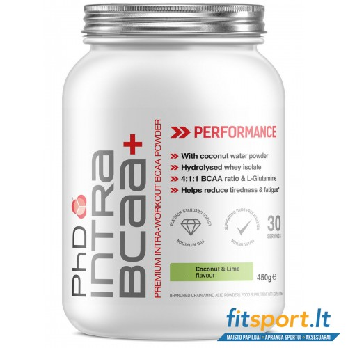 PhD Nutrition intra BCAA+   450g
