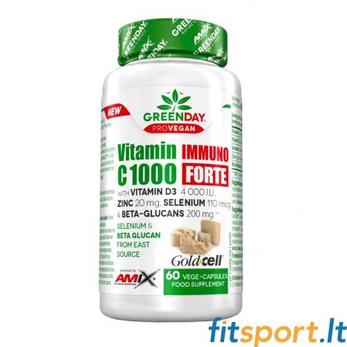 Amix Nutrition GreenDay® ProVEGAN Vitamin C 1000 Immuno FORTE, 60 VCaps