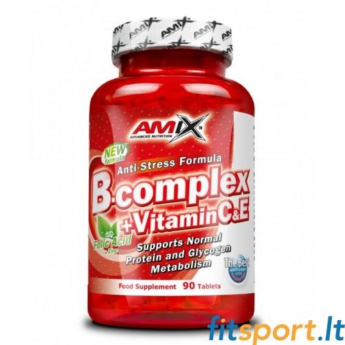 Amix B-complex + Vitamin C&E 90 kaps.