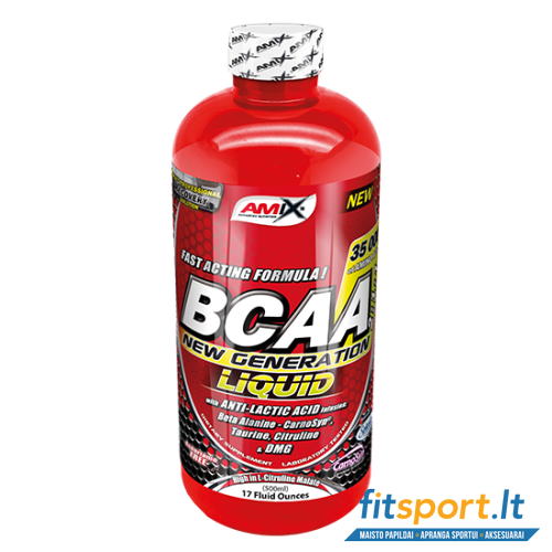 Amix BCAA New Generation 500ml (skystos amino r)