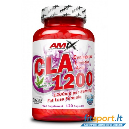 Amix CLA 1200 mg + Green Tea 120 kaps.
