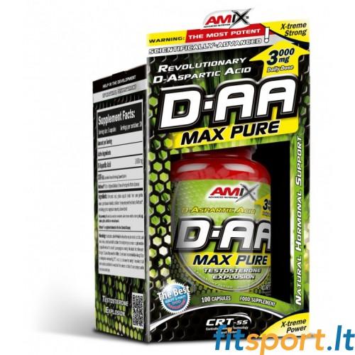 Amix DAA 100 kaps. - Testosteronas