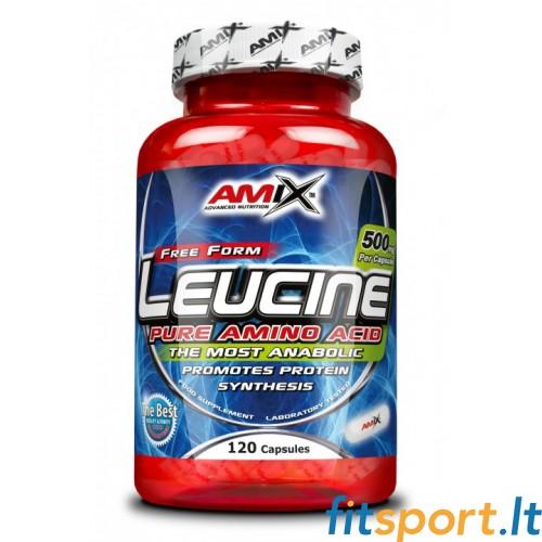 Amix L-Leucine PURE 1000mg 120kaps.