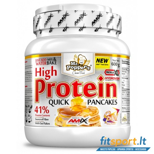 Amix Mr. Popper's High Protein Pancakes 600g