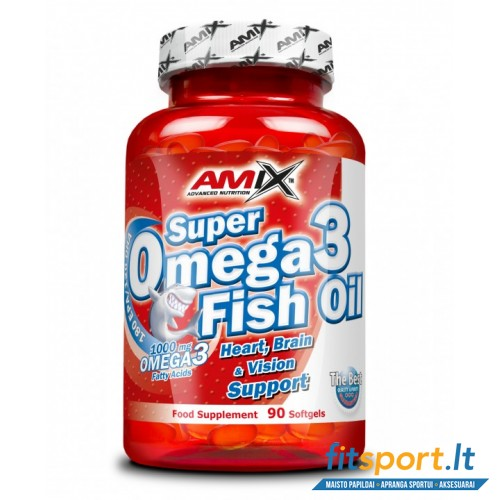 Amix Super Omega 3 fish oil 90 kaps.
