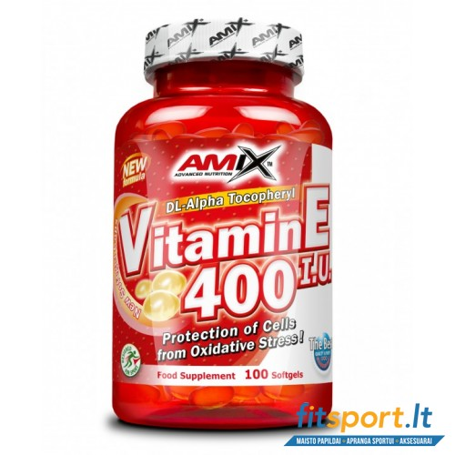 Amix Vitamin E 400 IU 100 softgels
