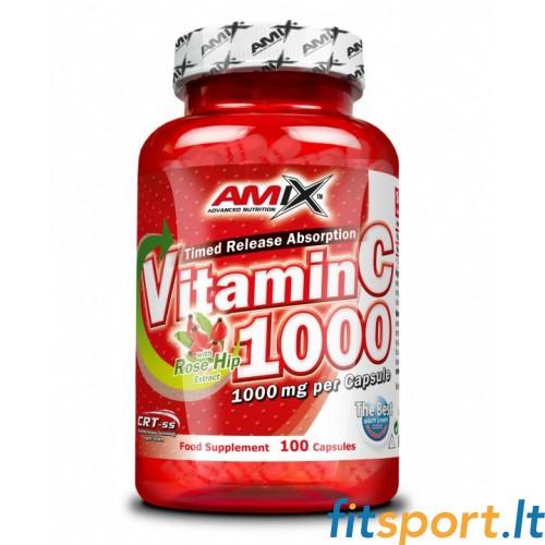 Amix Vitamin C 1000 mg 100 kaps.