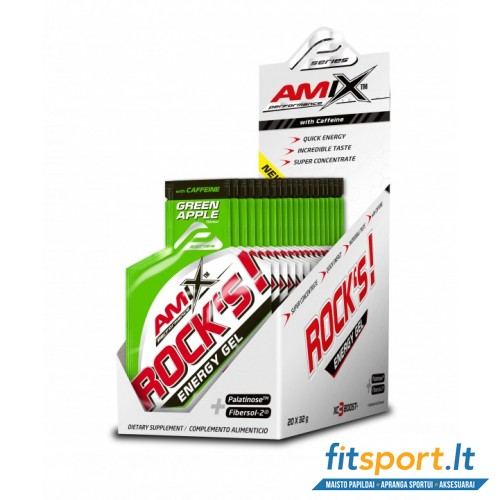 Amix Performance Rock's Energy Gel with caffeine 20x32 g