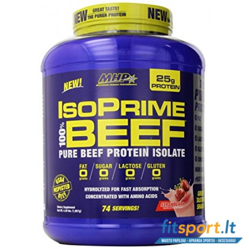 MHP IsoPrime BEEF Isolate 2000g
