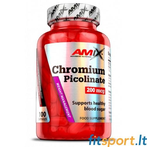 Amix Chromium Picolinate 100kaps.