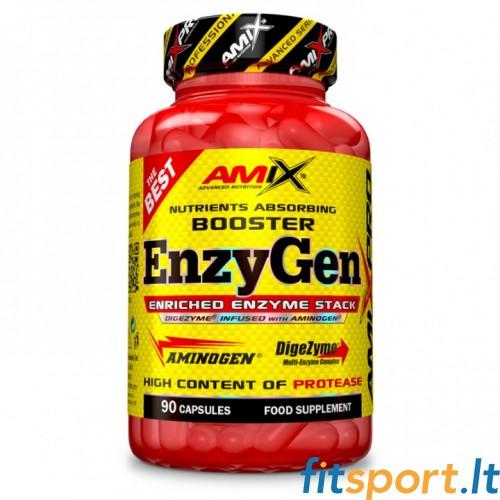 AmixPro EnzyGen 90 kaps (Virškinimo fermentai)