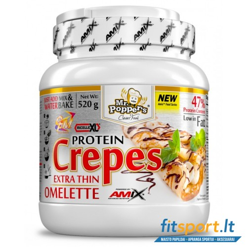 Amix Mr. Popper's  Crepes high protein omelette 520g