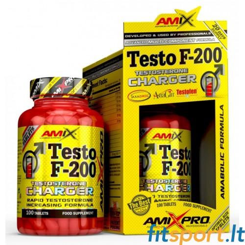 AmixPro®TestoF-200 ® 100tbl + DOVANA amix tribulyn 40% 60kaps nemokamai