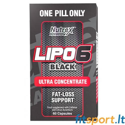 Nutrex Lipo 6 Black 60 kaps