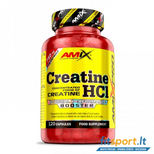 AmixPro™ Creatine HCl 120 kaps.