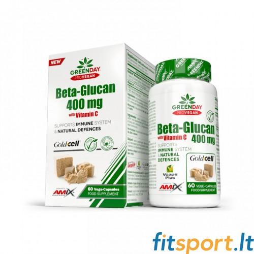 Amix GreenDay® ProVegan BetaGlucan 400mg 60 kaps.
