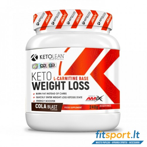 Amix KetoLean® Keto Weight Loss 240 g.