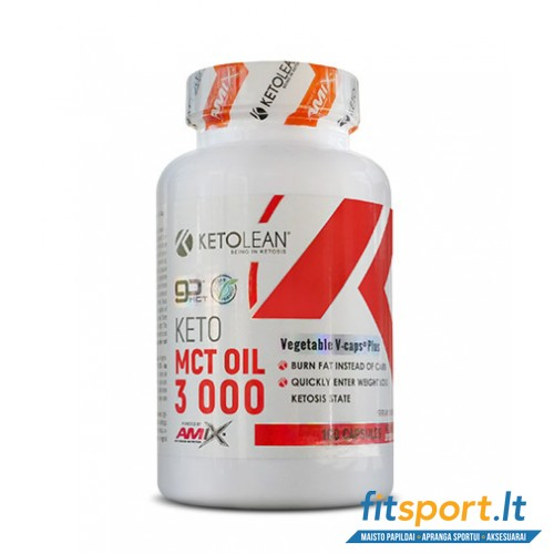 Amix KetoLean® Keto go MCT Oil 3000 mg / 100 kaps