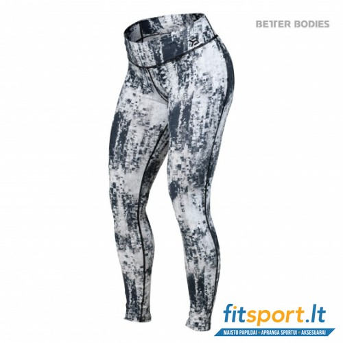Better Bodies Bowery tights/black-white