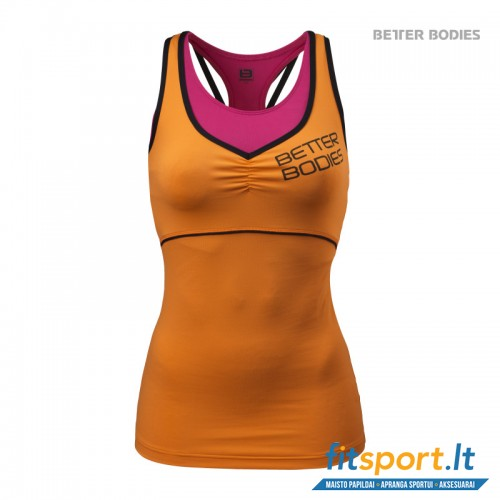 Better Bodies 2-layer Logo top/bright orange
