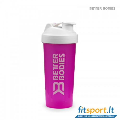 Better Bodies Fitness shaker/hot pink