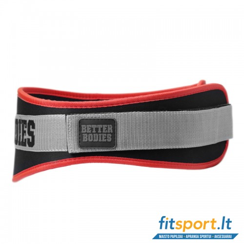 Better Bodies Basic Gym belt/red