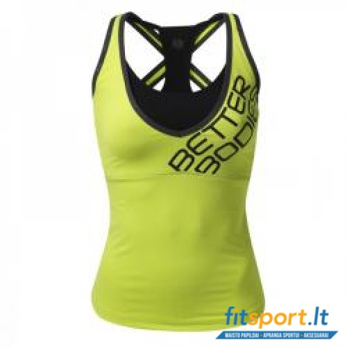 Better Bodies Support 2-layer top/lime
